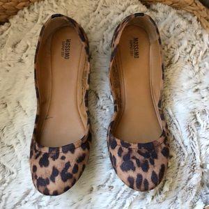 💕Mossimo Leopard flats